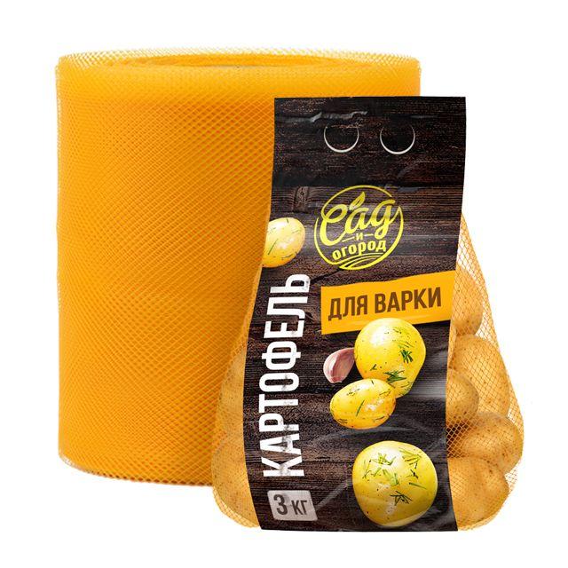 новый дизайн и вид упаковки фасованного картофеля